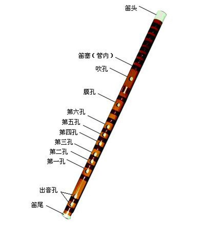 笛子简谱中的反复符号