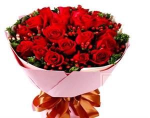 19支红玫瑰花束